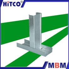 China Suppliers Suspended metal galvanized wall angle for drywall parition and ceiling