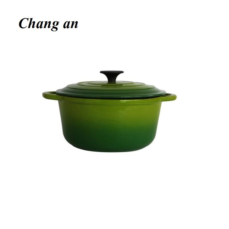 cast iron enameled casserole cocotte dutch oven