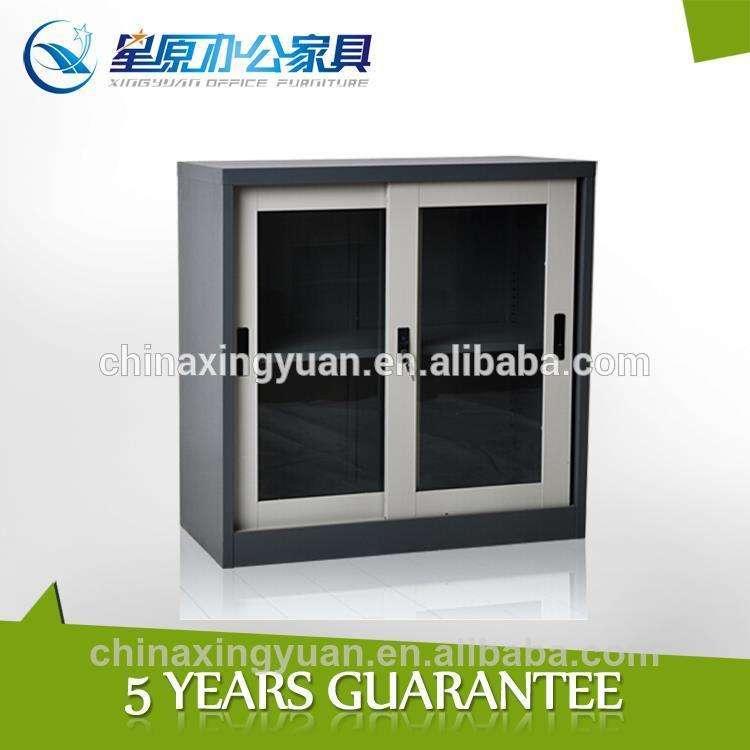 ikea visibile la visualizzazione di scorrimento in acciaio porta in vetro armadio di stoccaggio