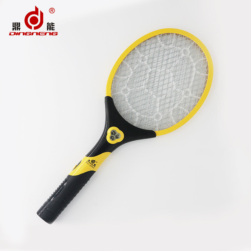 New design multifunction rechargeable mosquito-hitting swatter electronic mosquito swatter