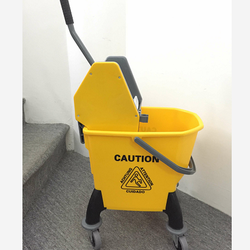 Mop Bucket with Wringer with wheels
