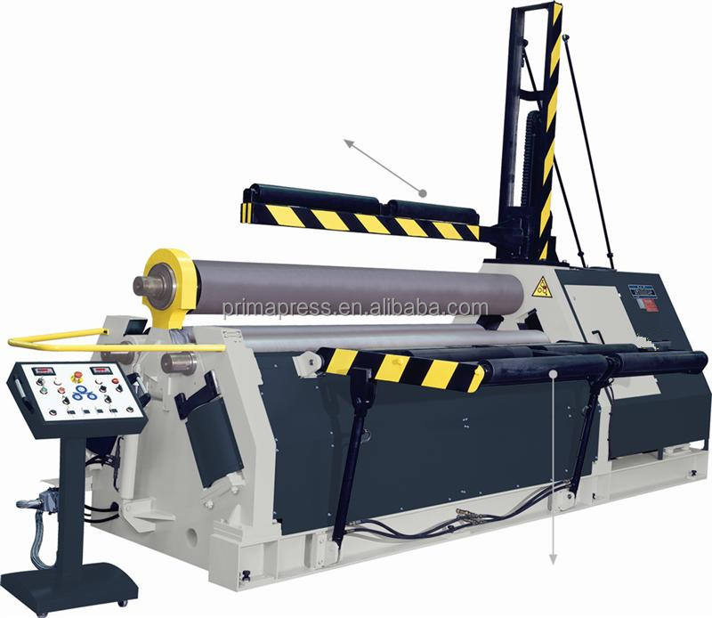 w12 Factory price CNC 3 4 roller plate rolls roller bending machine(40x3000)
