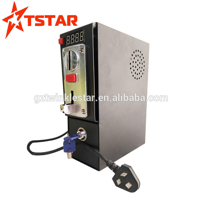 Factory price for multi machine coin acceptor with time control box