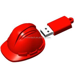 Promotions gift helmet usb, helmet shaped usb flash drive 16GB 2.0