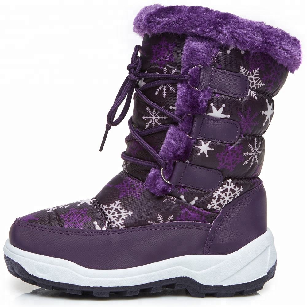 Fashion Style Girls Snow Boots,Bling Winter Snow Boot