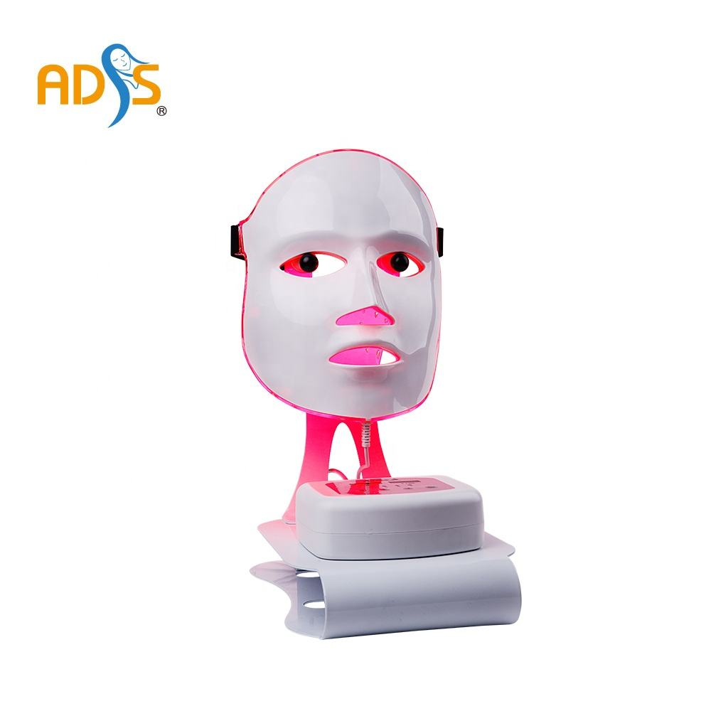 ADSS Newest skin rejuvenation acne removal treatment home use LED light beauty mask
