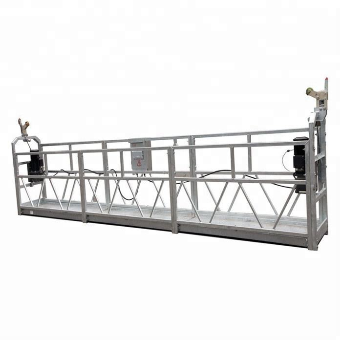 build clean crane swing cradles suspended platform