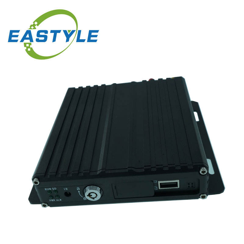 High Quality 4 channel 1080P h264 4ch 2 sd card mobile dvr with GPS 4G WiFi optional