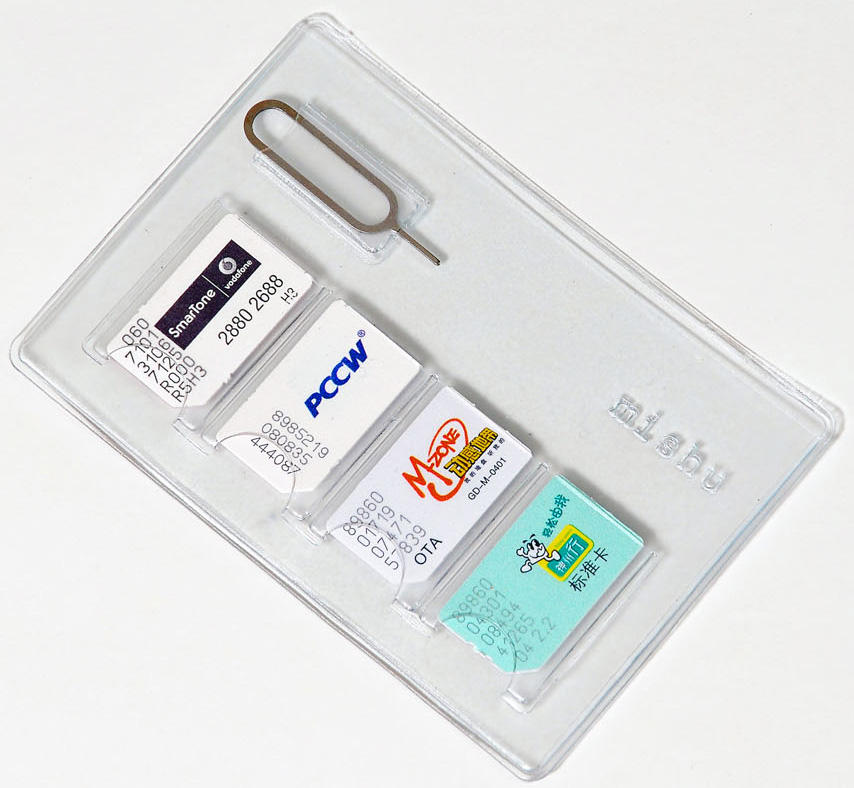 Wholesale PVC Sim Card Holder
