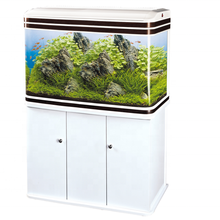 SOBO JAP style T-60F/80F/100F/120F/150F T series curving tank system glass aquarium fish home aquarium tank cabinet