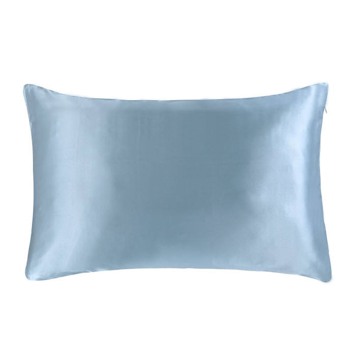 Private Label Satin Silk Pillowcase for Hair and Skin Mulberry Pillow Cases Cover with Hidden Zipper