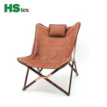 HStex 2020 custom modern fancy outdoor furniture folding butterfly bag chair colorful camping stool