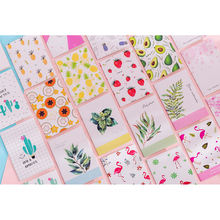 2019 creative custom soft cover flamingo cactus sketch portable notes gift a5 school supplies notebook