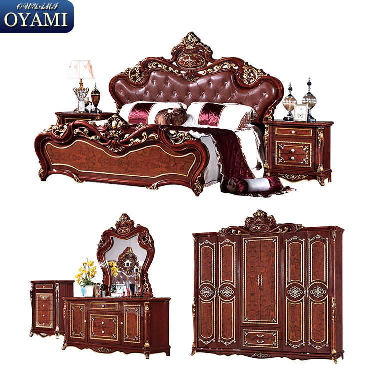 Euro style dubai bedroom furniture