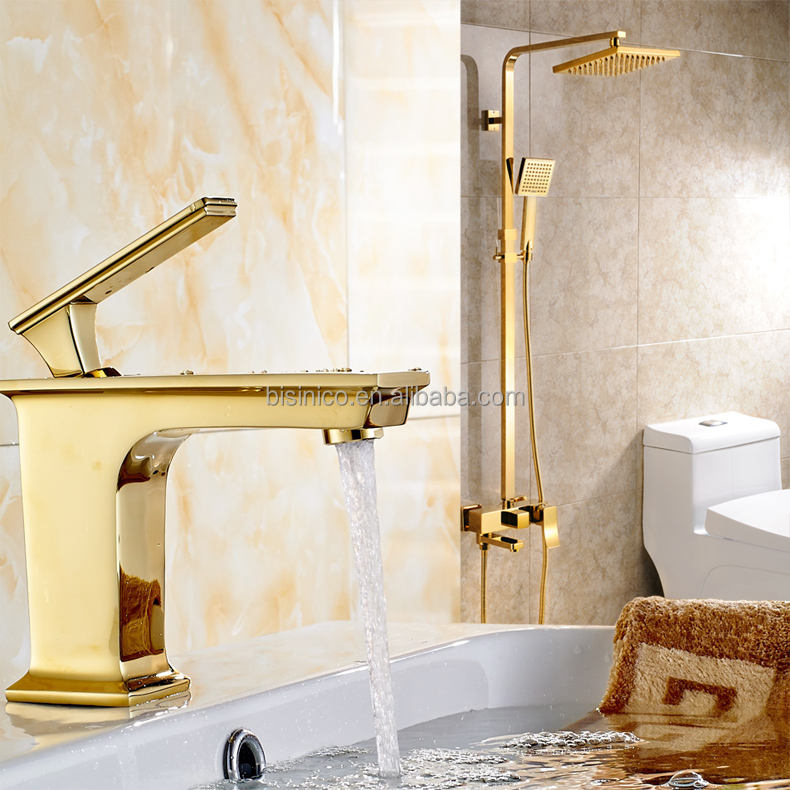 Royal Style Full Brass Fine Casting Basin Faucet, Bath Single Hole Basin Mixer Faucet