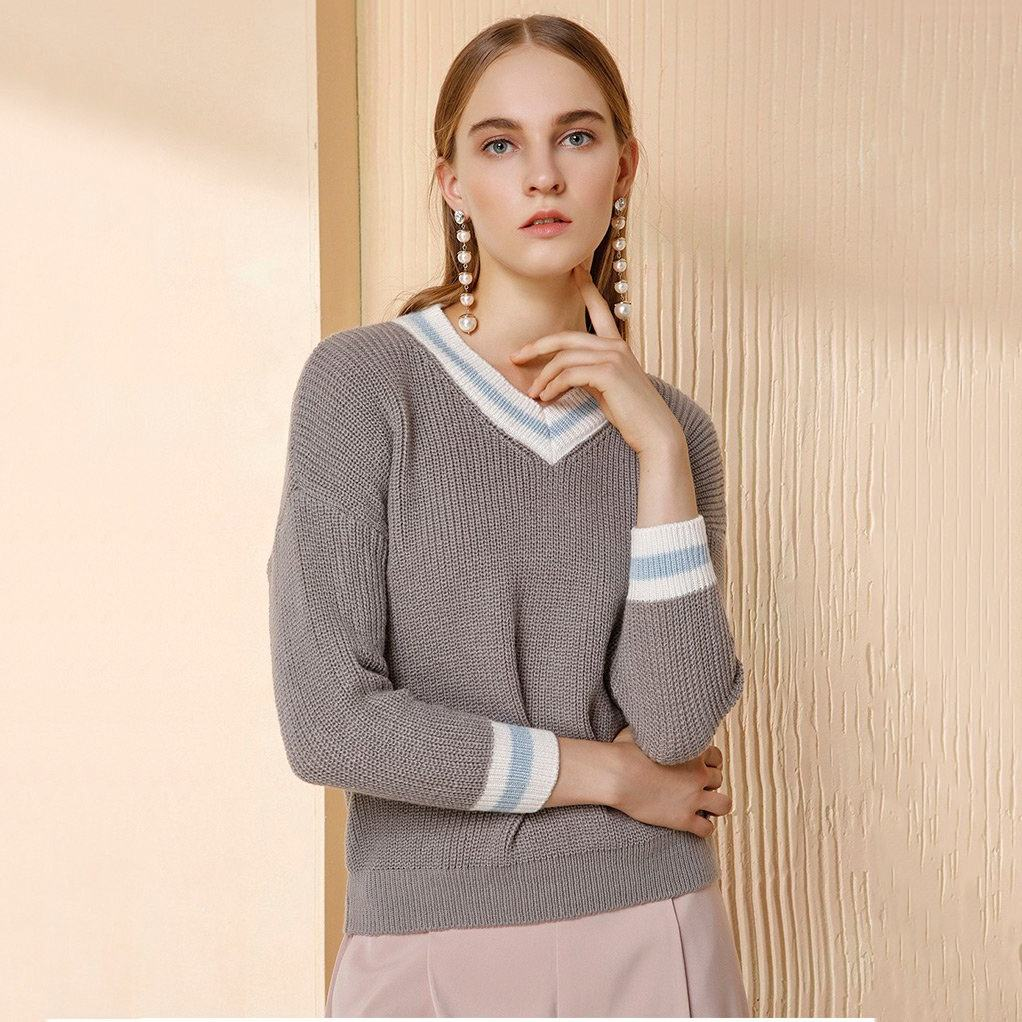 Low price wholesale china manufacturers comfortable lady sweater