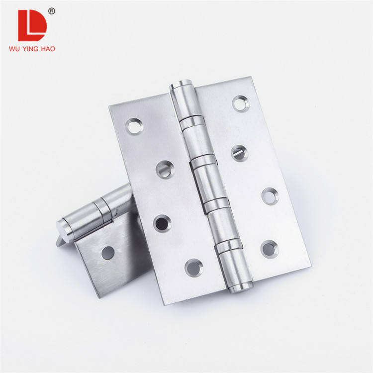 WUYINGHAO High quality door hinges 4*3 inch 2BB/4BB ball bearing ss hinges for furniture doors