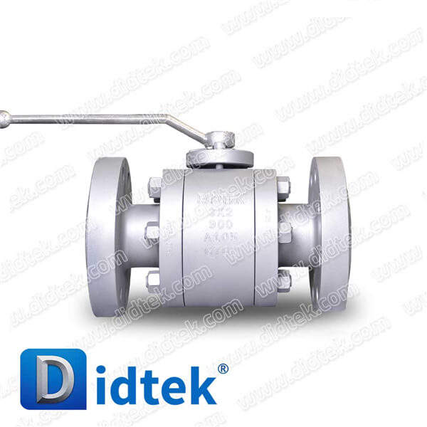 Didtek 3X2 Reduced Bore ASTM A105 Floating Forged Soft Seat Ball Valves With Lever
