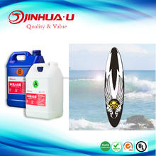 UV Resistance Epoxy Resin and Hardener for Sanding/Polish Surfboard/Snowboard/Paddle
