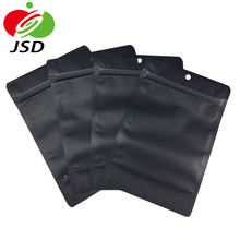 Hot Matte Disposable Zip Lock Bag Packaging Plastic Stand Up Pouch With Zipper Micro Usb Cable Package Soap Package