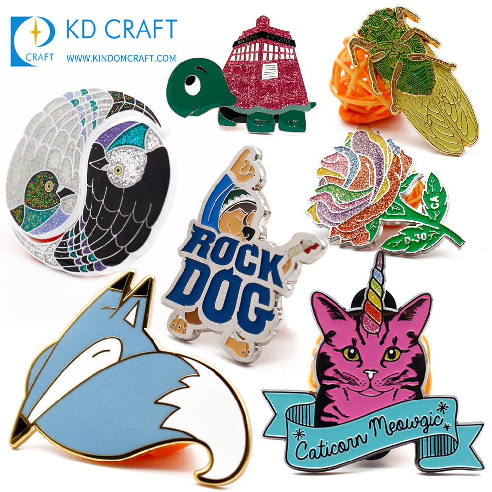 China manufacturer no minimum cheap design your own die cast embossed 3d enamel custom metal pin badge for souvenir