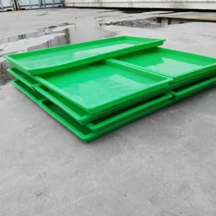 High Quality Plastic hydroponic fodder trays for barley garlic growing
