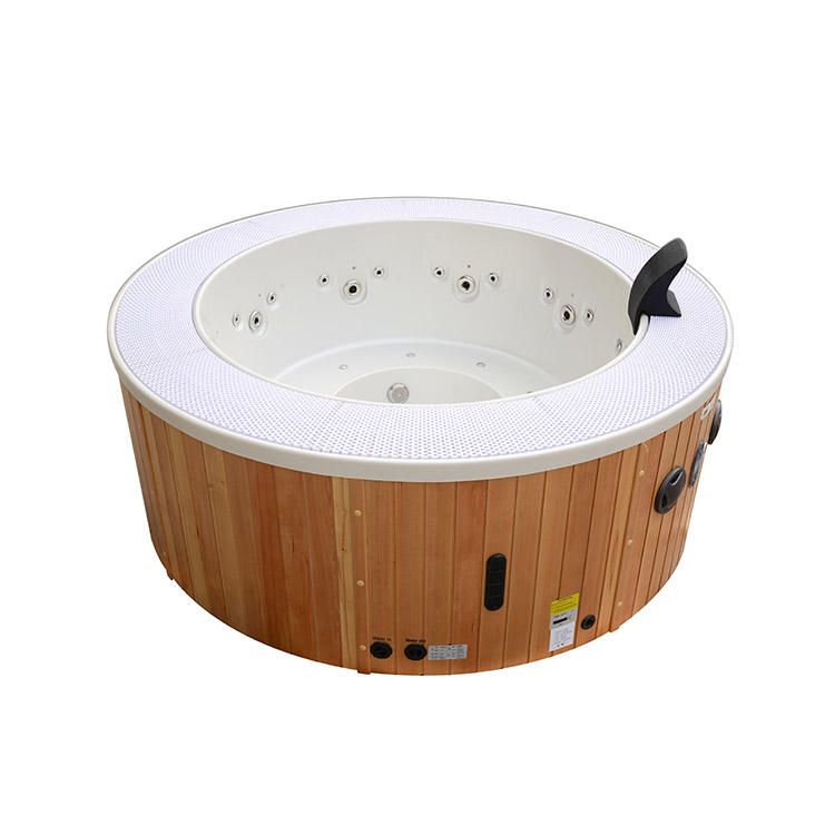 Hot sale 5 person outdoor massage round spa hot tub
