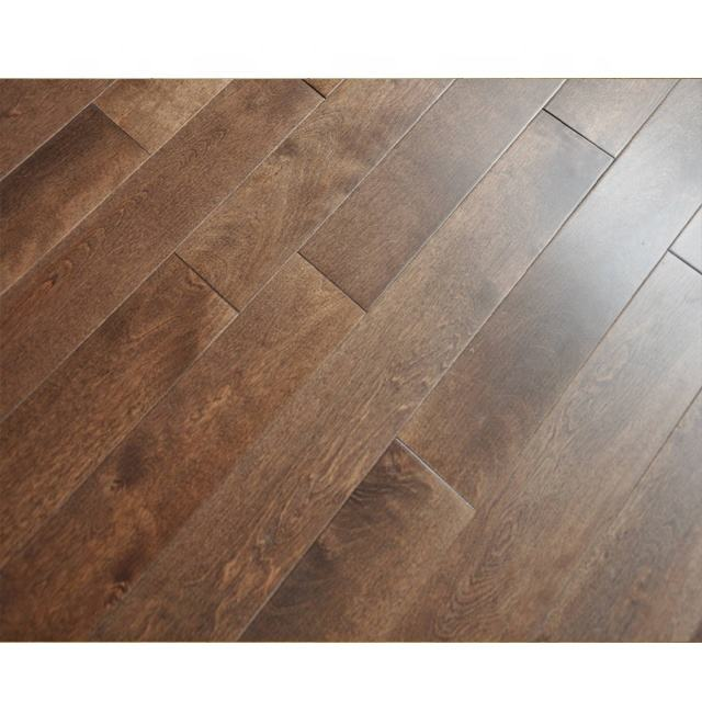 Select grade Birch home use wood flooring depot wood parquet cheap price wood floor