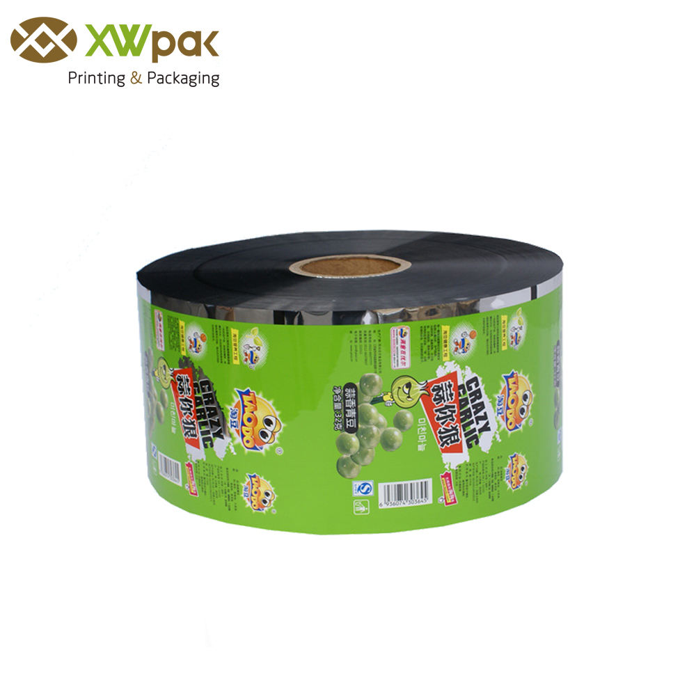 Printed Food Grade Roll Film Packaging for Energy Bar