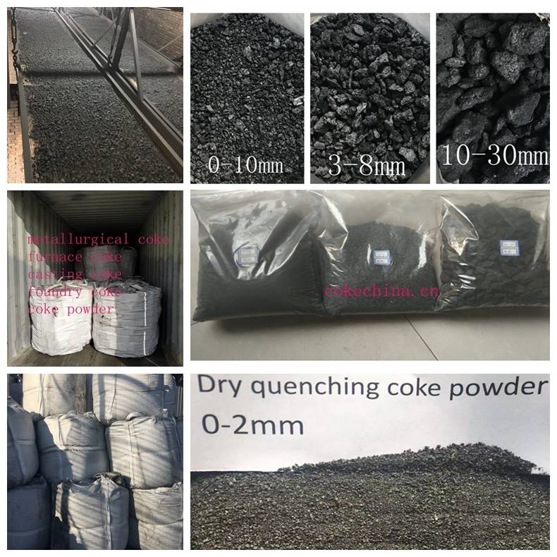 Metallurgical coke particle for ferroalloy making manufacturer from China