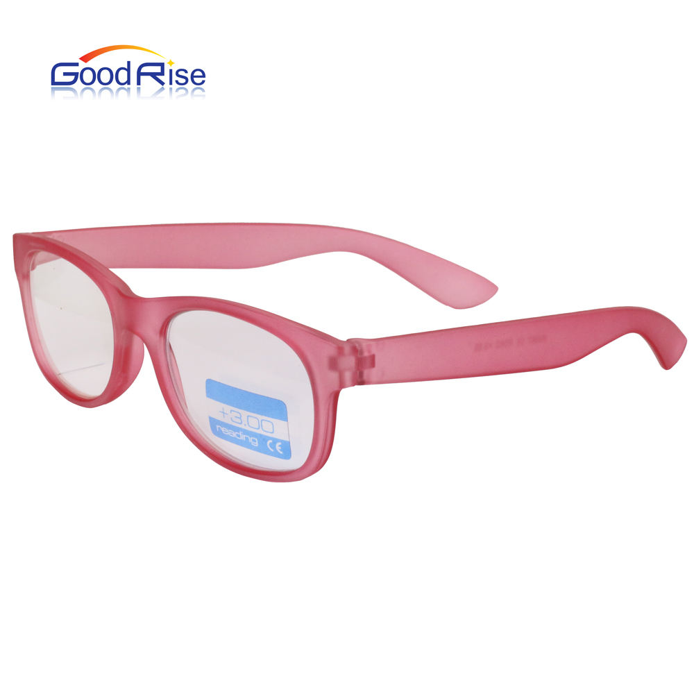 2018 Fashion New Design Optical eyeglasses Frame Promotion Pink Reading Glasses For Woman