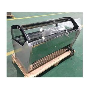 Made in china R404a glas schiebetür eis display popsicle gefrierschrank/chiller