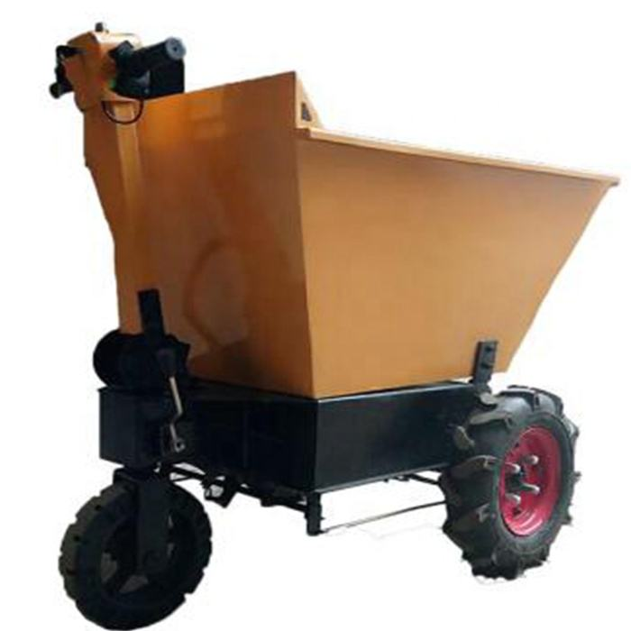 WANTUO handcarts/3 wheels electric hand push dump trolley/Farm hand push dump carts