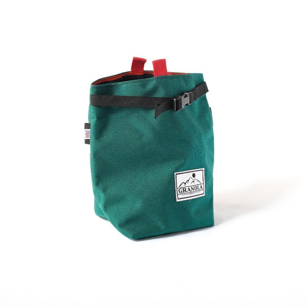 High Quality New Design Chalk Bouldering Bucket Stand Bag for Rock Climbing