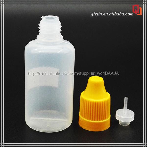 Продажа alibaba горячие продукты пластик PE 30 мл пластиковая бутылка на заказ ярлык для жидкость ejuice essentail масло
