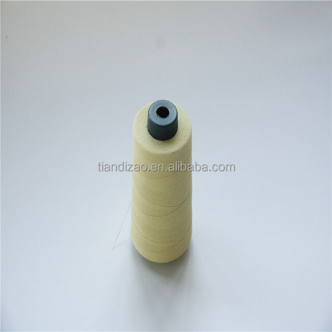Ne30s/3 anti-cut para aramid sewing thread/duput kevlar sewing thread