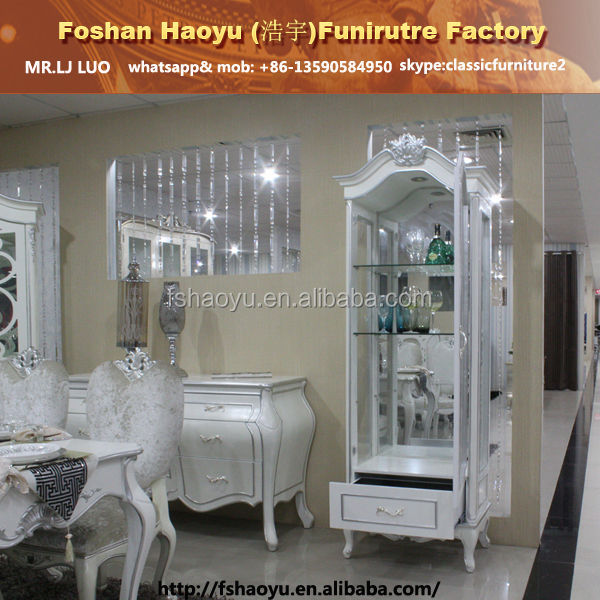 white wooden wine liquor cabinet,hotel furniture