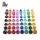 Cheap price high quality custom color dice, 7 Piece Polyhedral Dice Set