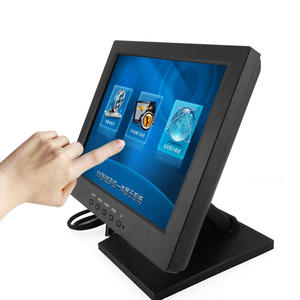 10 inch waterproof touch screen monitor lcd USB, VGA 4-wire resistive touch for pos all in one