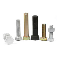 High quality wobble hex wheel forged nut bolts parts group