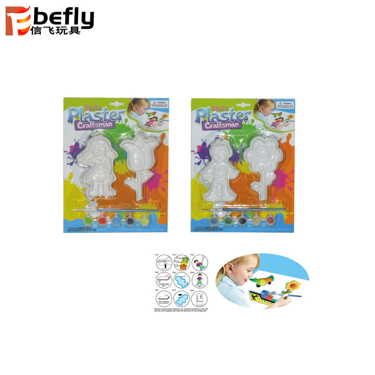 Kids plaster craft for paint