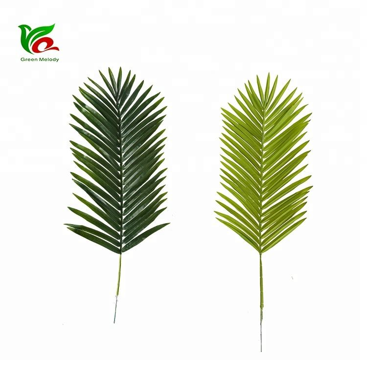 Artificial Leaves For Decoration Betel Coconut Palm Plant Leaves For Sale