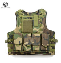 Camo Koozies Costume Bullet Proof Tactical Vest with Shoulder Armor