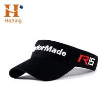 Get free sample delivery within 15 days Wholesale hat Custom 3d embroidery logo sports sun visor cap