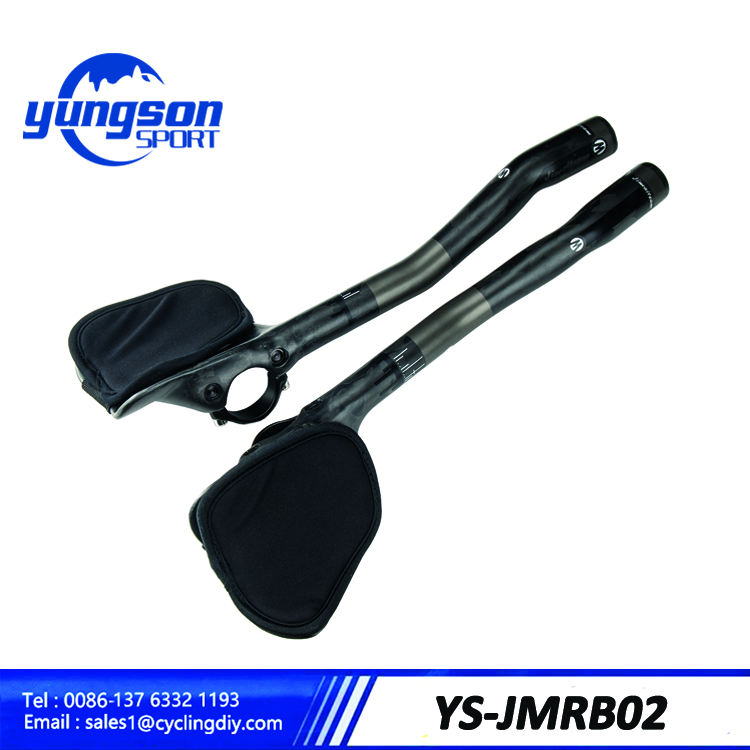 Ultra light Bicycle Highway Rest Put Handlebar Aero T800 Carbon TT Handlebar 31.8mm Rest Handlebar Extend