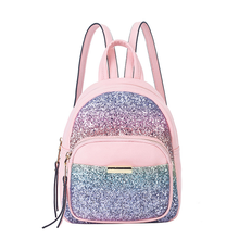 Two Color Wholesale Girls Sequin Backpack