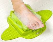 Foot Brush Scrubber - Ultimate Foot Brush Cleaner Helps with Dead Skin Fungus and Daily Foot Wash