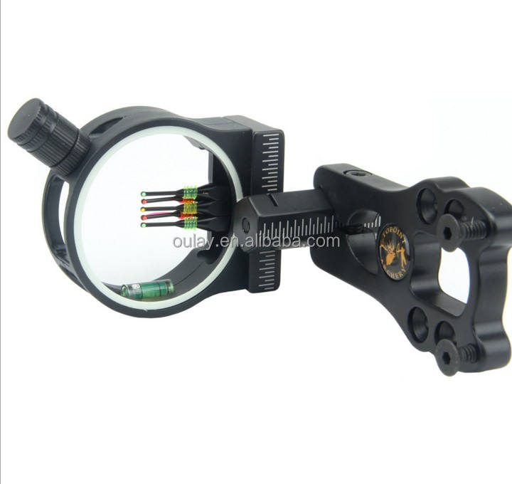 Compound bow sight for archery and bow with peep sight,compound bow accessories