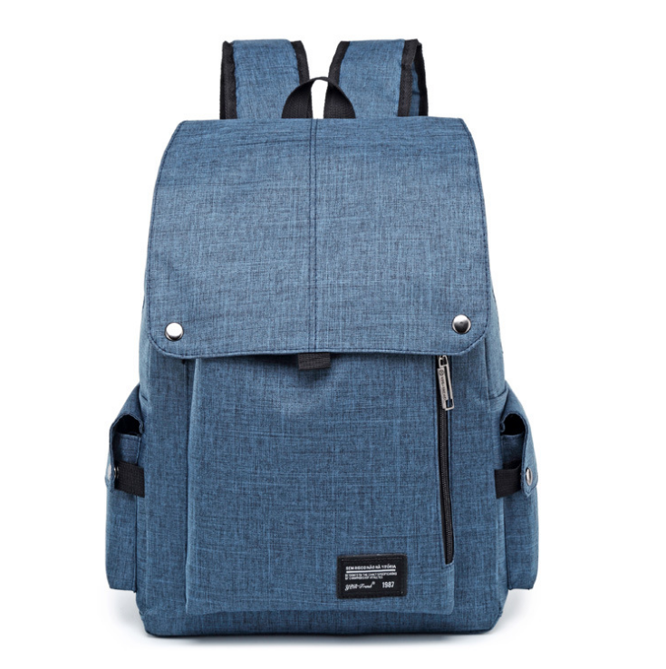 Three Color Laptop Backpack Schoolbag