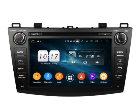 android 9.0 car dvd player for Mazda 3 2009-2012 octa core 4G RAM 64G ROM RADIO GPS NAVIGATION STEREO MULTIMEDIA HEADUNITS